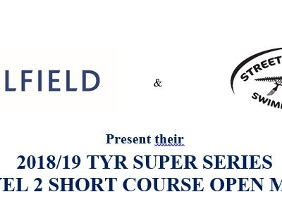 TYR Super Series L2 19th-21st October Millfield